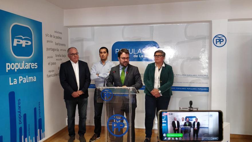 Asier Antona este martes en rueda de prensa.