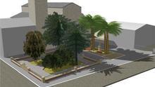València remodela el jardín de la plaza de la Iglesia de la Font de Sant Lluís
