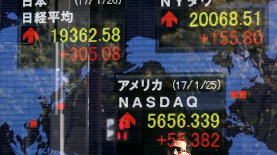 La Bolsa de Tokio abre con un avance del 0,33 % hasta los 20.413,61 puntos