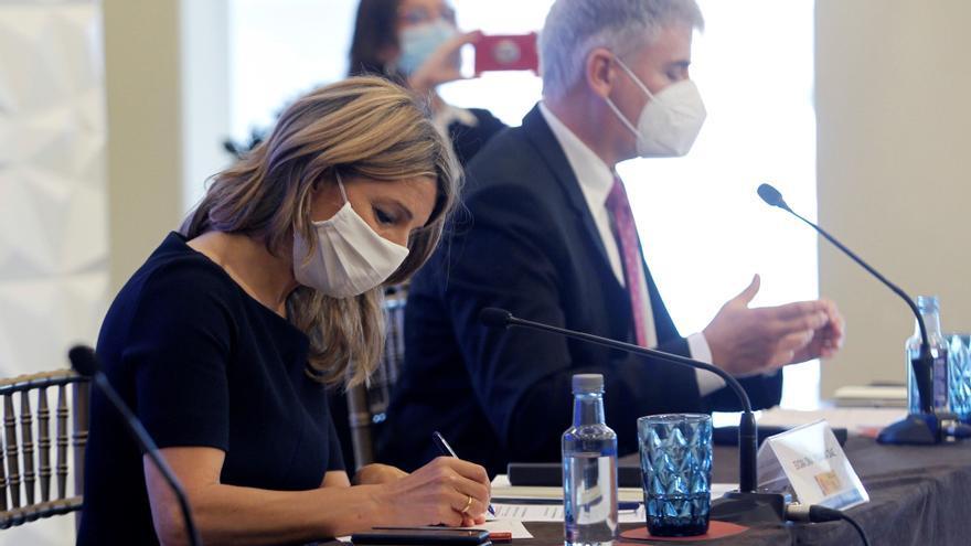 Yolanda Díaz: Las reformas enviadas a Bruselas tratan sobre todo el paro juvenil