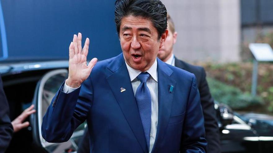 El primer ministro japonés felicita a Trump por el reciente resultado electoral