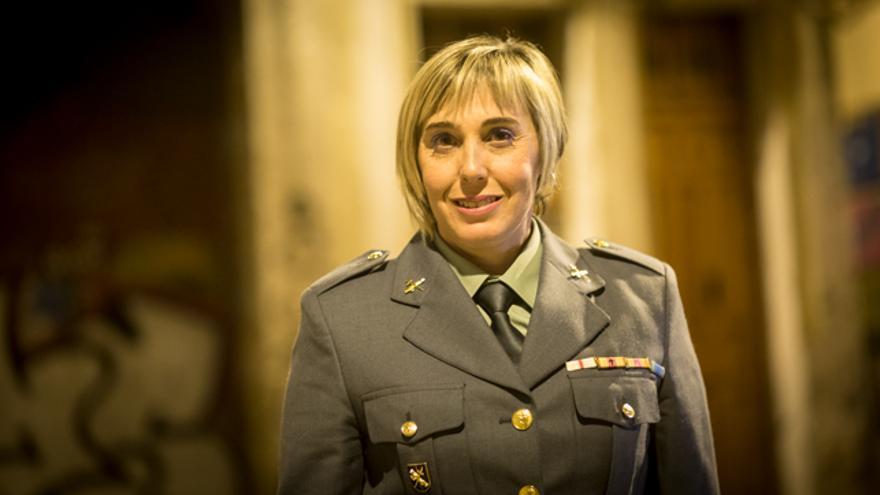 María Contreras, guardia civil y autora del libro 'Yo no seré la próxima. Mi ángel de la guarda viste de uniforme'.