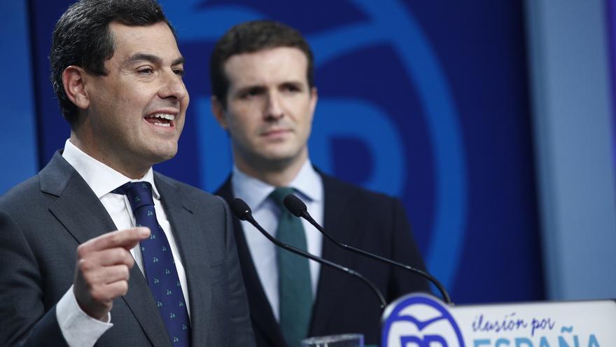 Casado cree que Moreno será investido en Andalucía y avisa que ningún partido puede malograr el mandato de las urnas