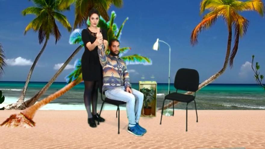 Una imagen de la videocreación del colectivo Somos Nosotros, 'Nada que perder, nada que ganar'.  Foto: Entreacto