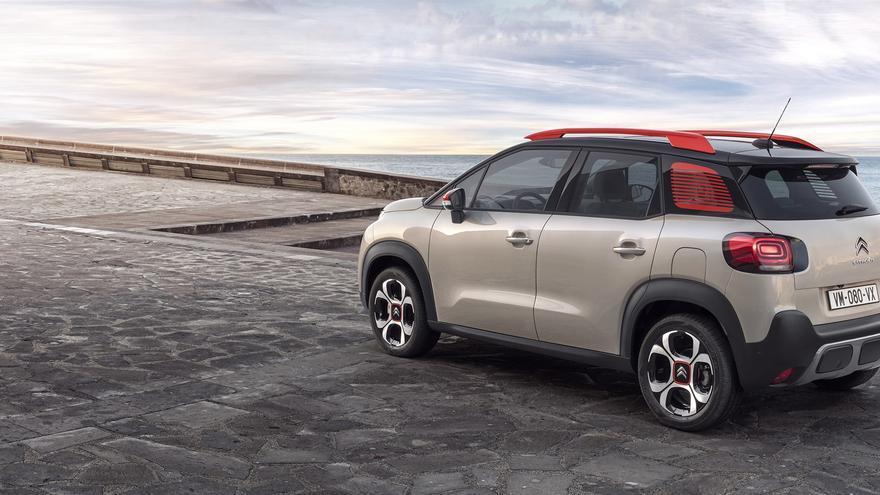 La personalización de la carrocería, una de las claves del Citroën C3 Aircross.