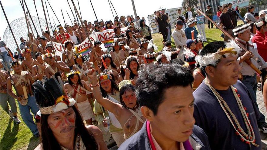 Indígenas del Amazonas hacen oír su voz en la Cumbre del cambio climático