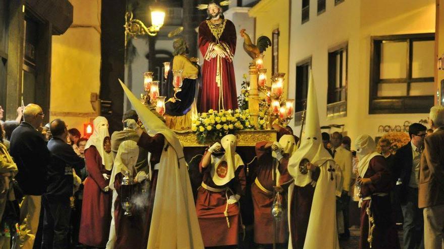 Procesión del Señor del Perdón de Santa Cruz de La Palma.  Foto: FOTOCOFRADE.