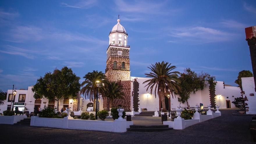 Plaza Los Leones, en la Villa de Teguise, Lanzarote