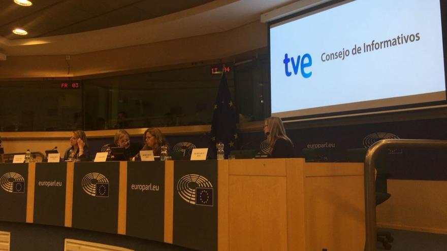 Presentación que el Consejo de Informativos ha llevado a cabo en Bruselas