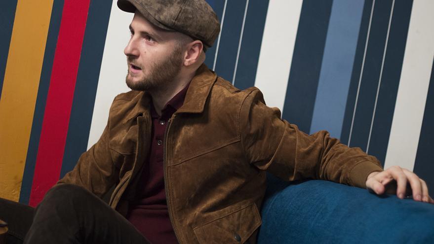 Lechowski durante la entrevista con eldiario.es