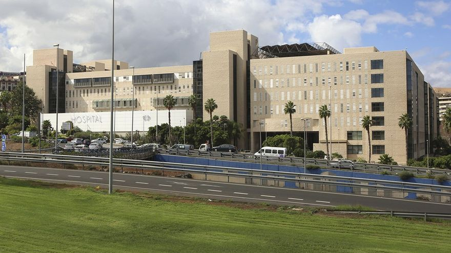 Hospital Doctor Negrín, Las Palmas de Gran Canaria. (Alejandro Ramos)
