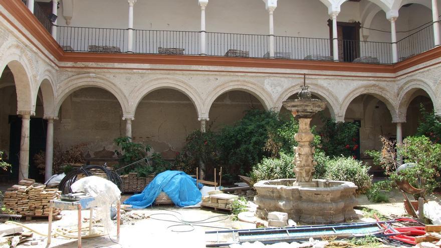 El Ayuntamiento de Écija recurre al uno por ciento cultural para restaurar el palacio de Peñaflor