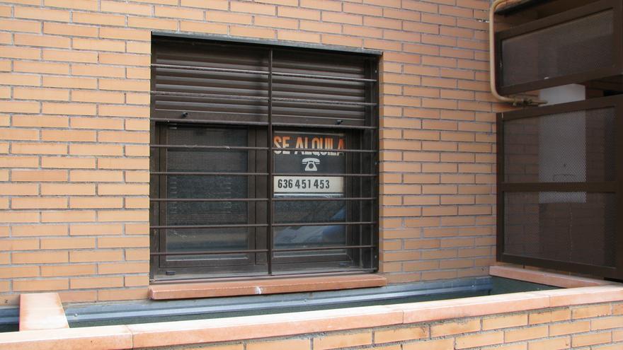 La burbuja del alquiler comienza a moderarse en Aragón tras varios años de hinchado.