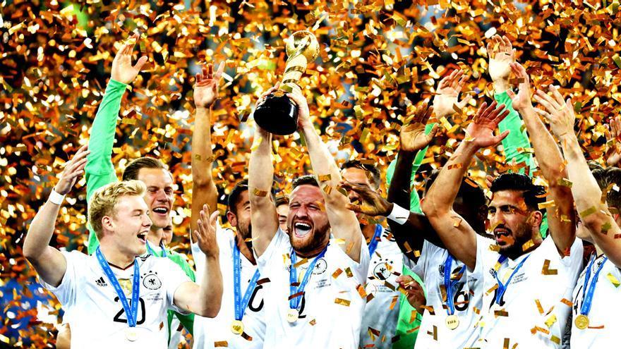 Gol cierra triunfal la Confederaciones con el título de Alemania
