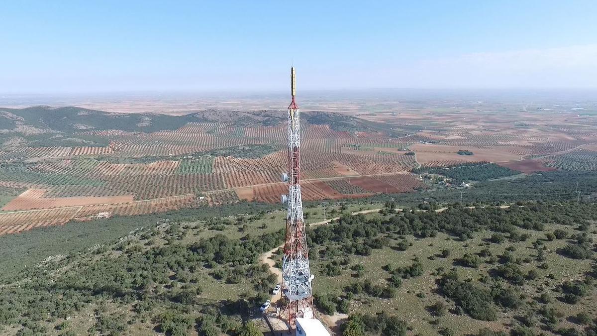 Antena de Telecom Castilla-La Mancha