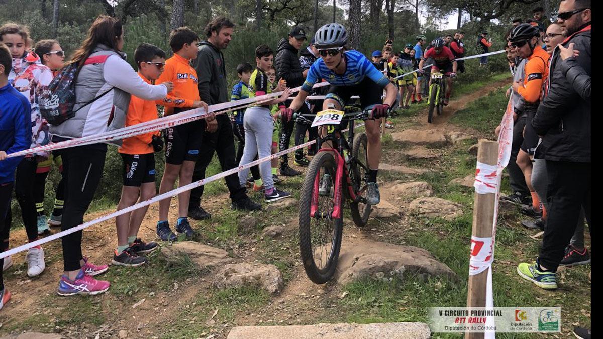 'Biker', en una edición anterior del Cerrobike.