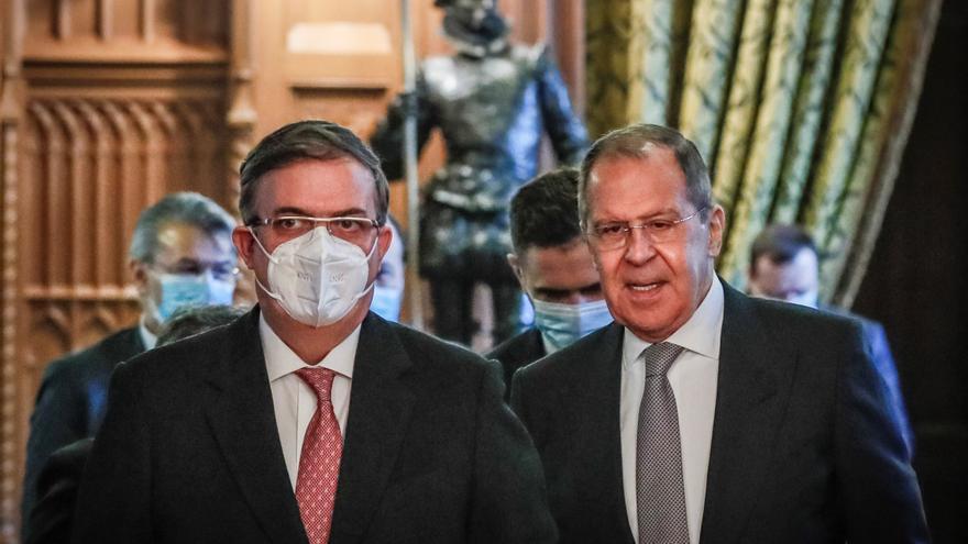 México agradece a Rusia su apoyo en la lucha contra la pandemia