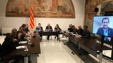 Los partidos independentistas discrepan sobre la estrategia para negociar con el Gobierno