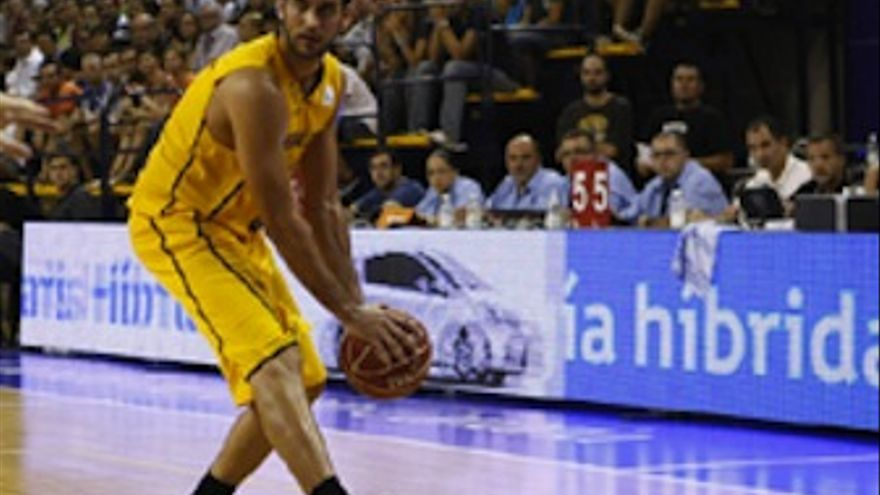 Roberto Guerra, en su regreso al CID. (cbgrancanaria.net)