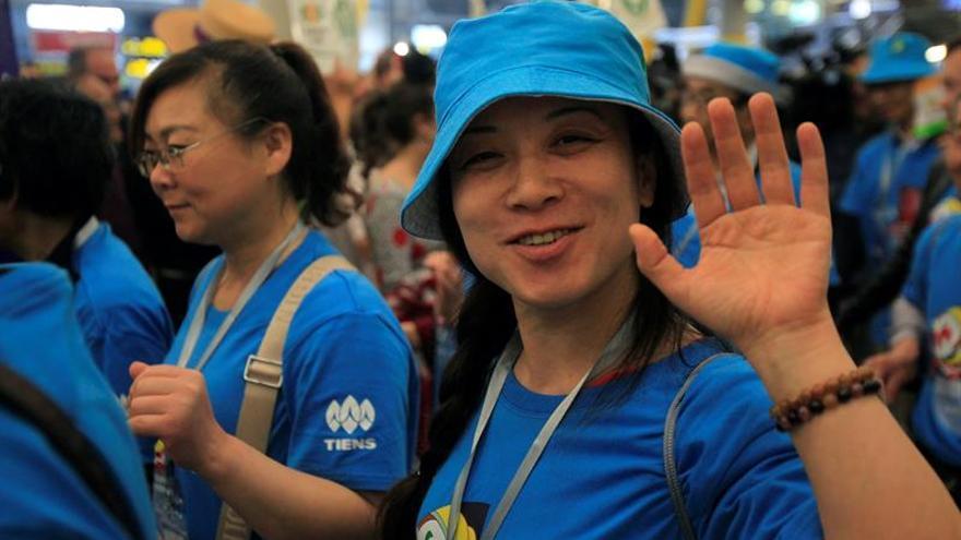 En 13 aviones culmina la llegada a Madrid de 2.500 chinos invitados por su jefe