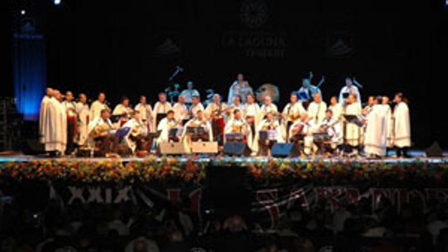 Actuación de Los Sabandeños.
