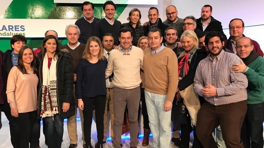 """Sanz (PP), en la convención del PP-A: """"El PSOE es como una hipoteca de 35 años en la que sólo se pagan intereses"""""""