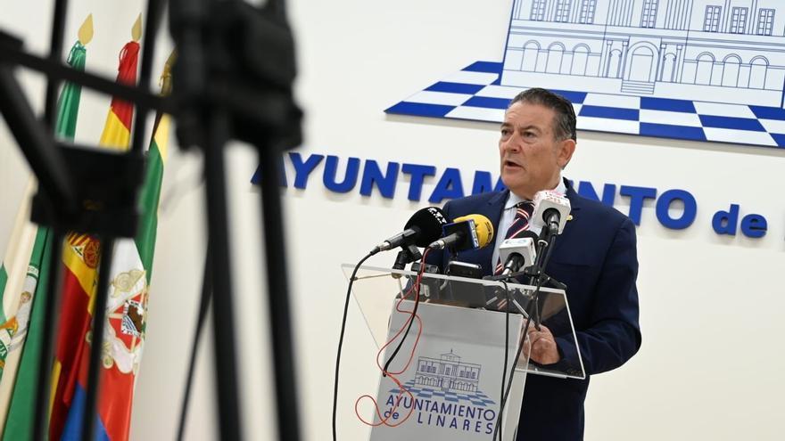 El alcalde de Linares, Raúl Caro-Accino