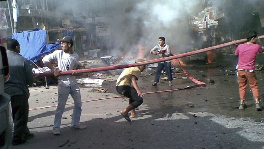 Al menos 9 muertos y 25 heridos por la explosión de un coche bomba en Bagdad