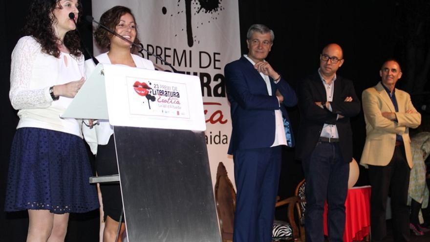 Jenni Rodà i Neus Verdaguer han guanyat el certamen literari de la Vall d'Albaida