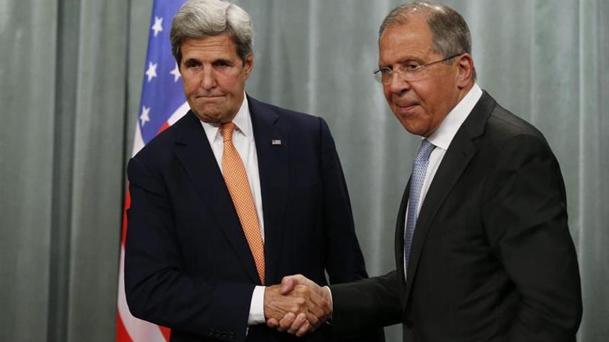 Lavrov y Kerry se reunirán hoy en Hamburgo