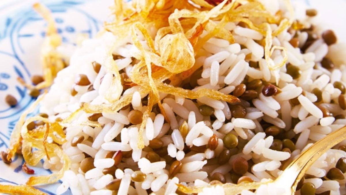 Lentejas con arroz, un plato nutricionalmente completo
