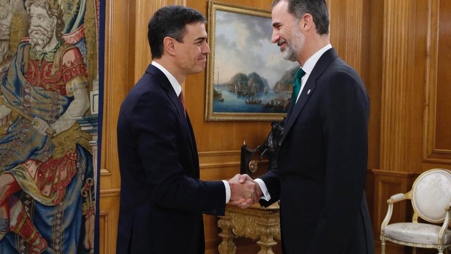Pedro Sánchez anunciará su Gobierno a las 19.00 horas en el Palacio de la Moncloa