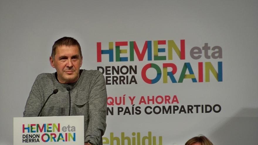 Otegi dice que le llamó la atención que las FARC pidieran perdón y apunta que es algo a tener en cuenta