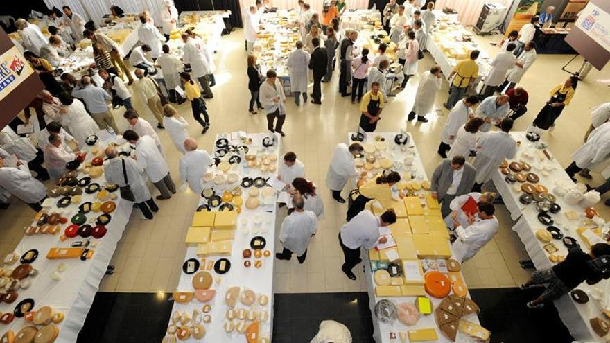 El mejor queso del mundo se elegirá el miércoles en San Sebastián
