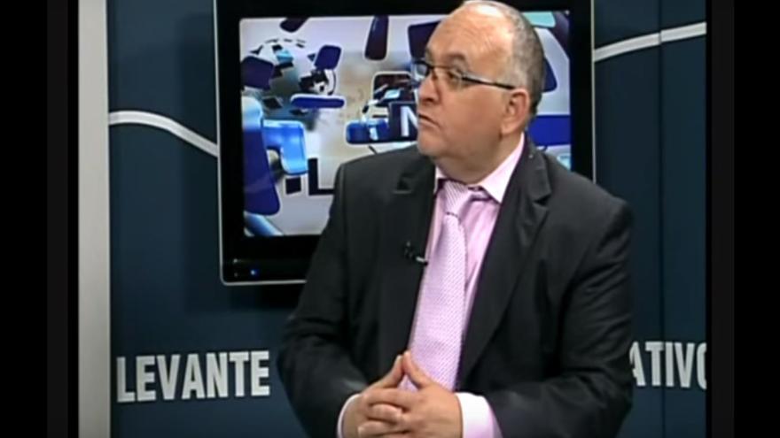 El presidente de la Fundació Valencianista i Demòcrata Josep Lluís Blasco