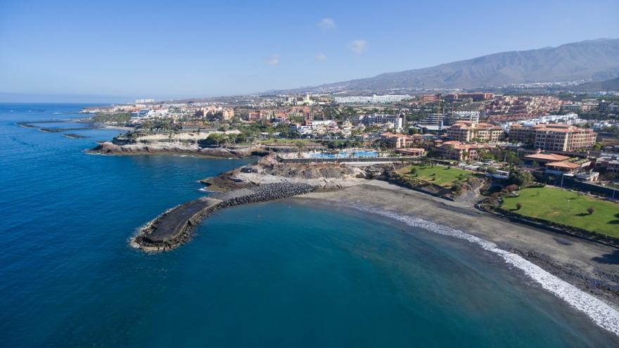 Playa de Fañabé, en Adeje (Tenerife)