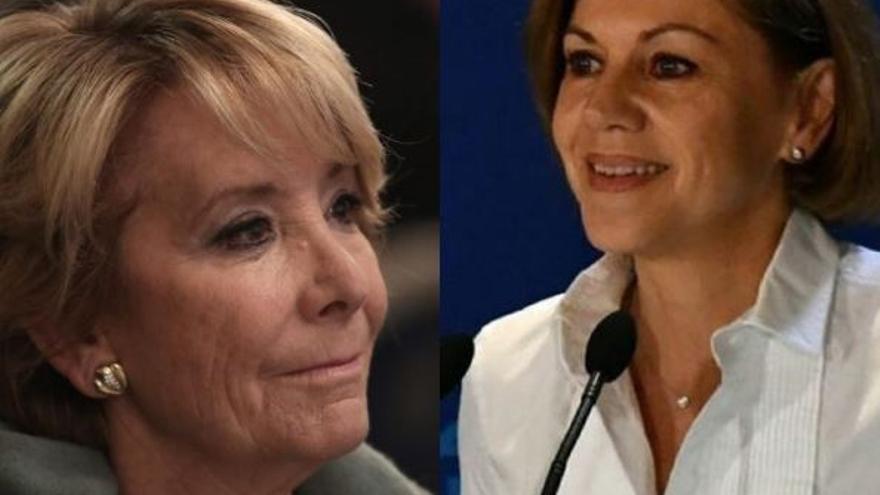 Esperanza Aguirre y María Dolores de Cospedal