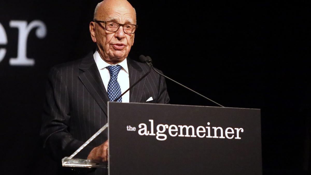 El magnate estadounidense Ruper Murdoch