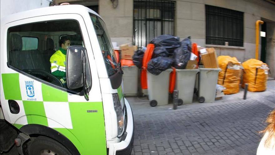 La basura se recogerá cuatro días a la semana en Madrid por servicios mínimos