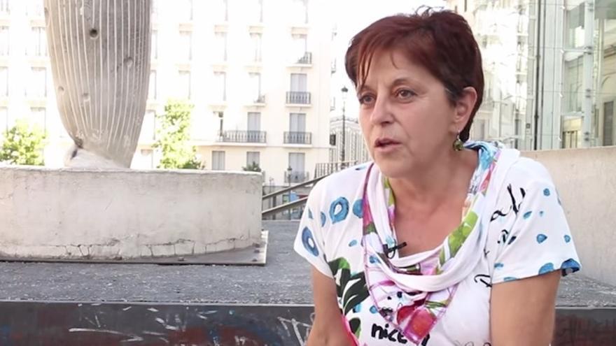Rosa Bajo, médico de famlia del centro de salud de Lavapiés (Madrid).