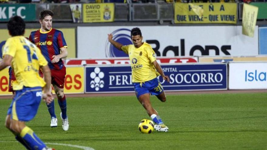 Del UD Las Palmas-Barcelona B #8