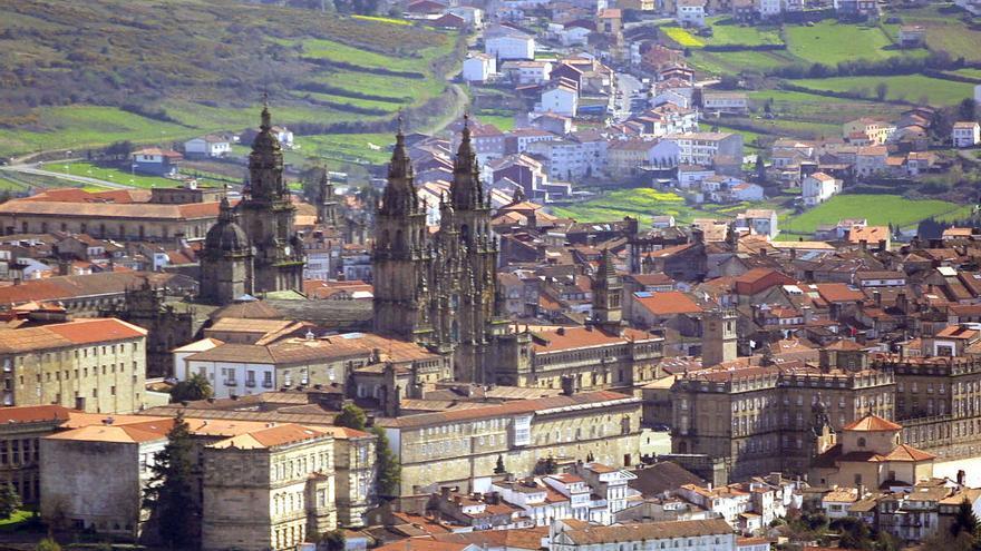 Vista de Santiago de Compostela / Turismo de Santiago