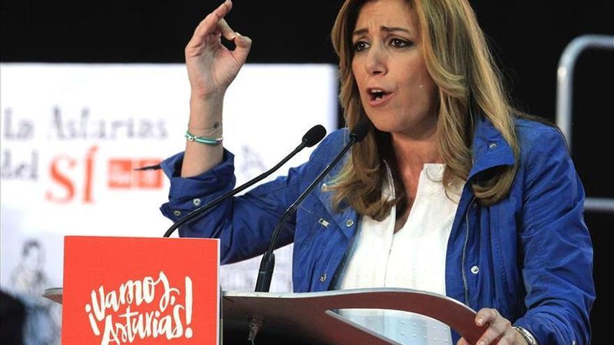 Susana Díaz acusa a la oposición de utilizar la ley para bloquear el gobierno