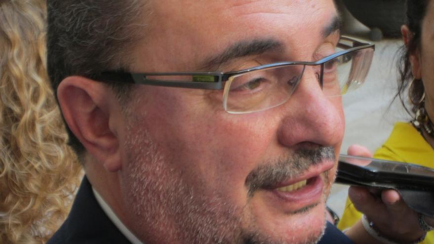 """Lambán apoya el llamamiento de Rubalcaba a suprimir la """"presión asfixiante"""" en los debates internos del PSOE"""