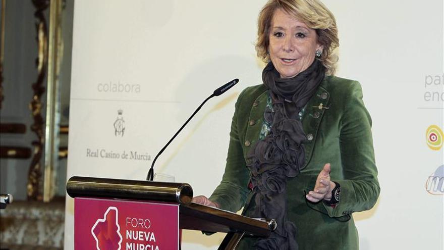 Aguirre recuerda que los que más votaron la constitución fueron los catalanes