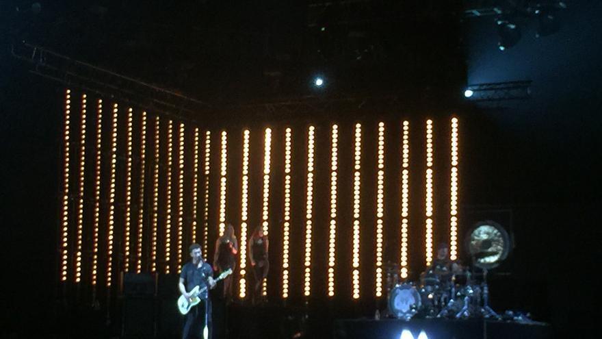El dúo Royal Blood, en plena actuación del BIME-2017.