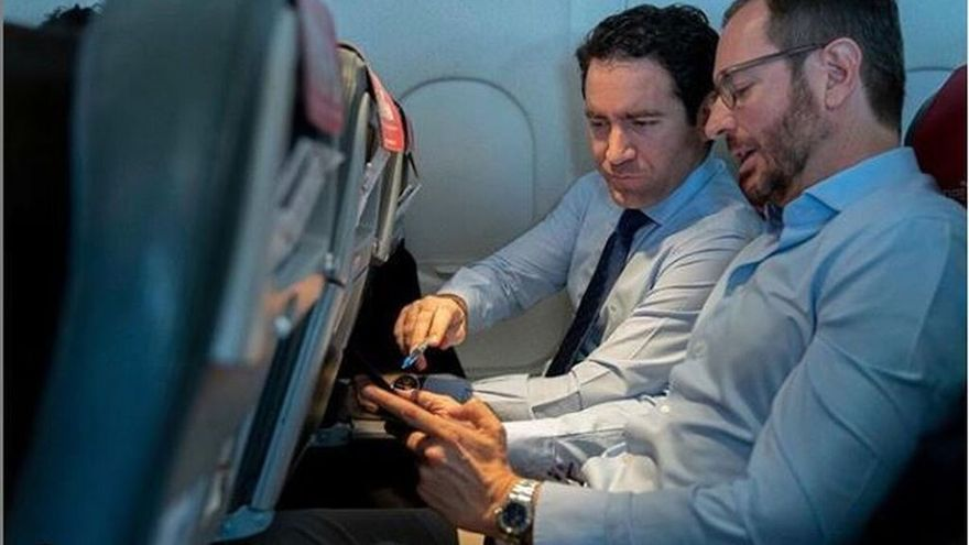 Teodoro García Egea y Javier Maroto. (INSTAGRAM PP)