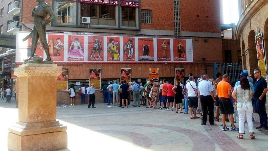 Venta de entradas de la Plaza de Toros de Valencia