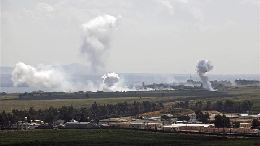 25 muertos por bombardeos gubernamentales en el norte de Siria