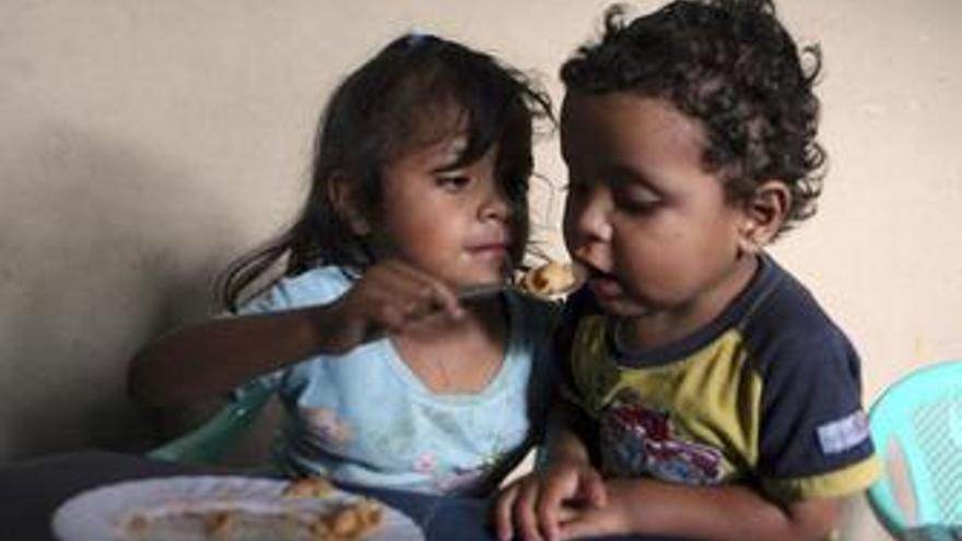 60 millones de niños van hambrientos diariamente a la escuela